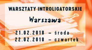 intro 2018.02 warszwa Warsztaty Introligatorskie