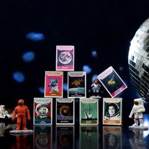 Zapałki kolekcjonerskie - Space Odyssey - Oficyna Peryferie