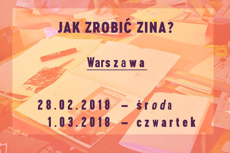 2018.02 warszawa Jak Zrobić Zina